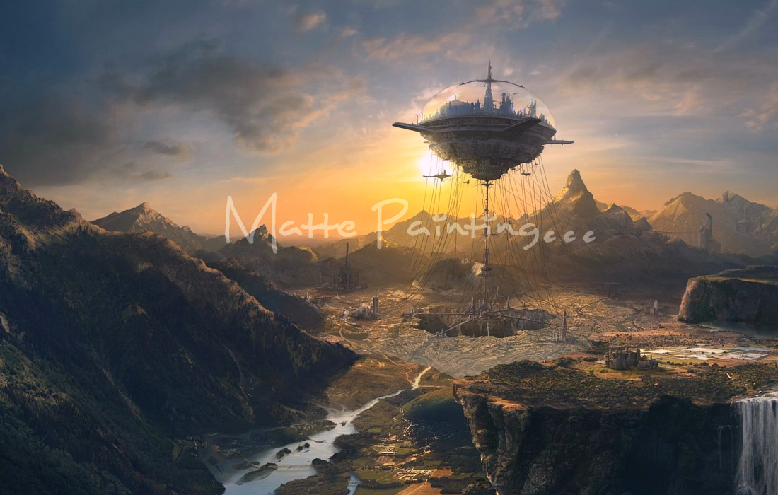 Creating a Matte Painting - A Digital Designers True Love