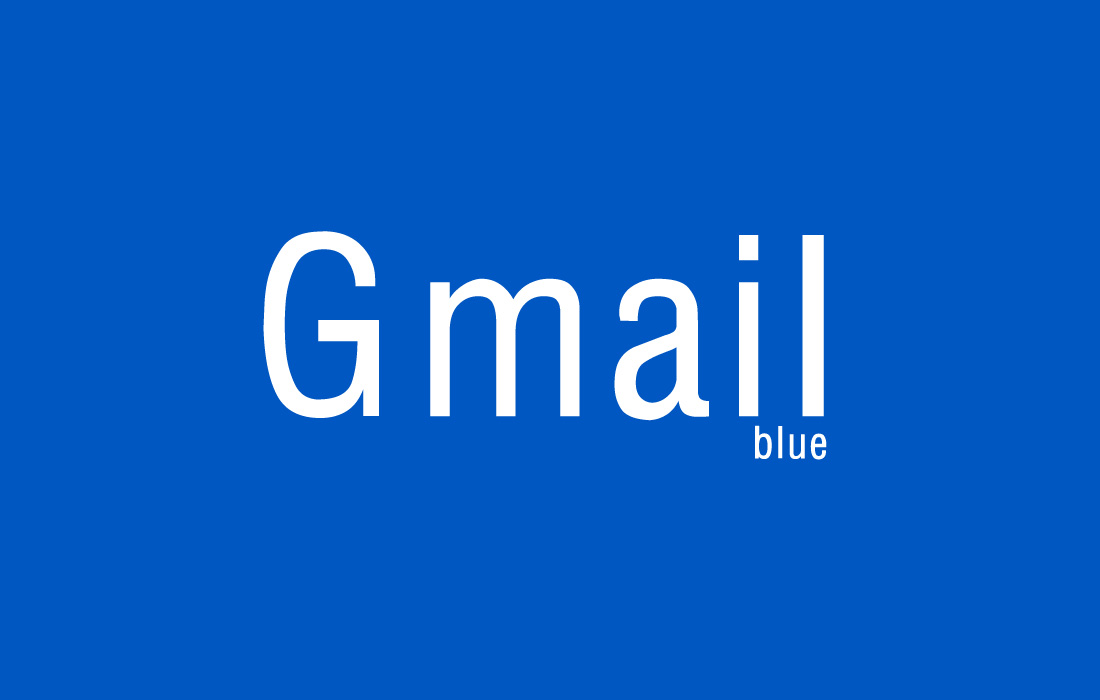 Gmail Blue Hoax made real...