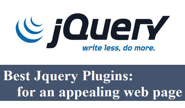 The best JQuery plugins for an appealing web page