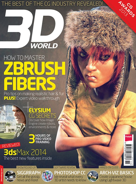 Hair, Fur, Polygon Pinups & More in  New 3D World