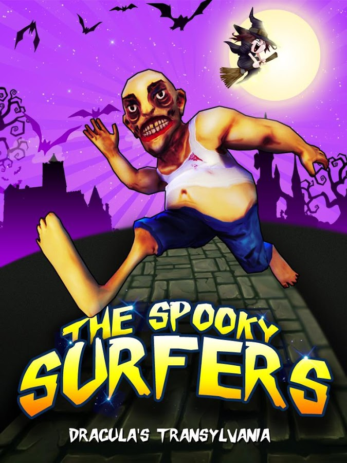 Spooky Surfers the Zombie Run -  Another Best Android Game