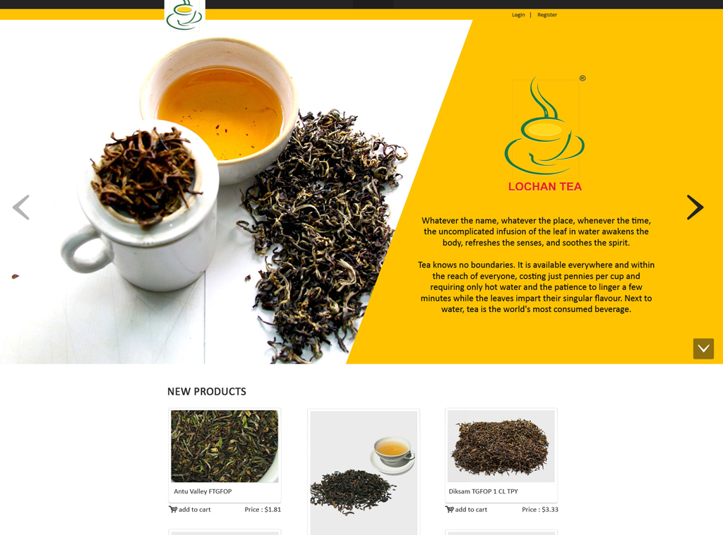 Client Review for Lochan Tea Project