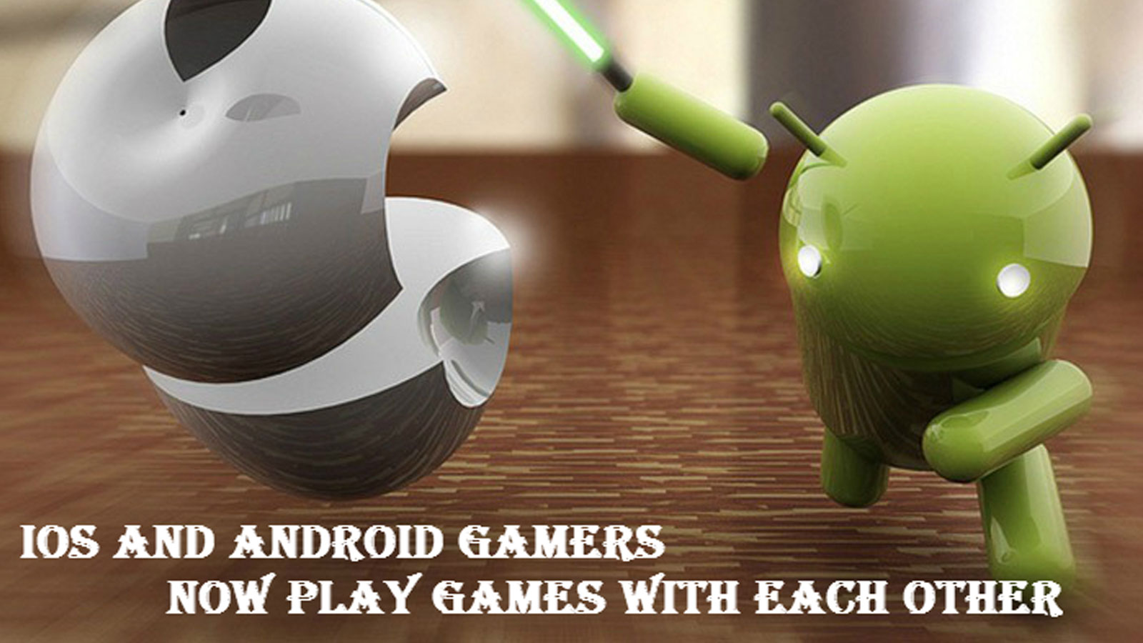 iOS and Android Gamers can now play games with each other