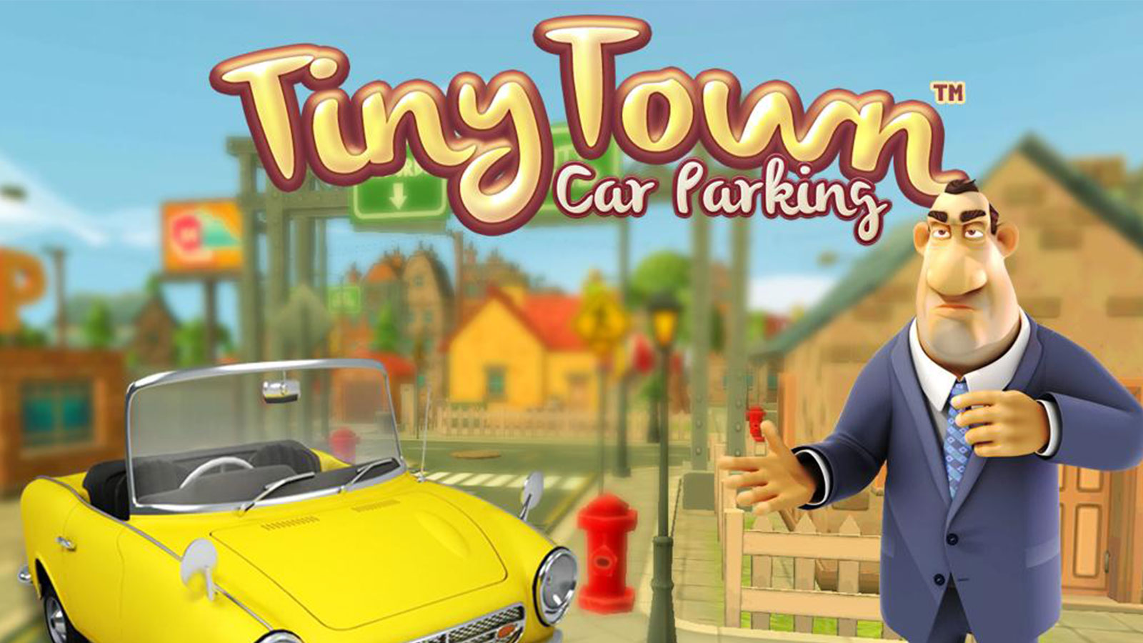 Tiny Town Best Car Parking Android Game
