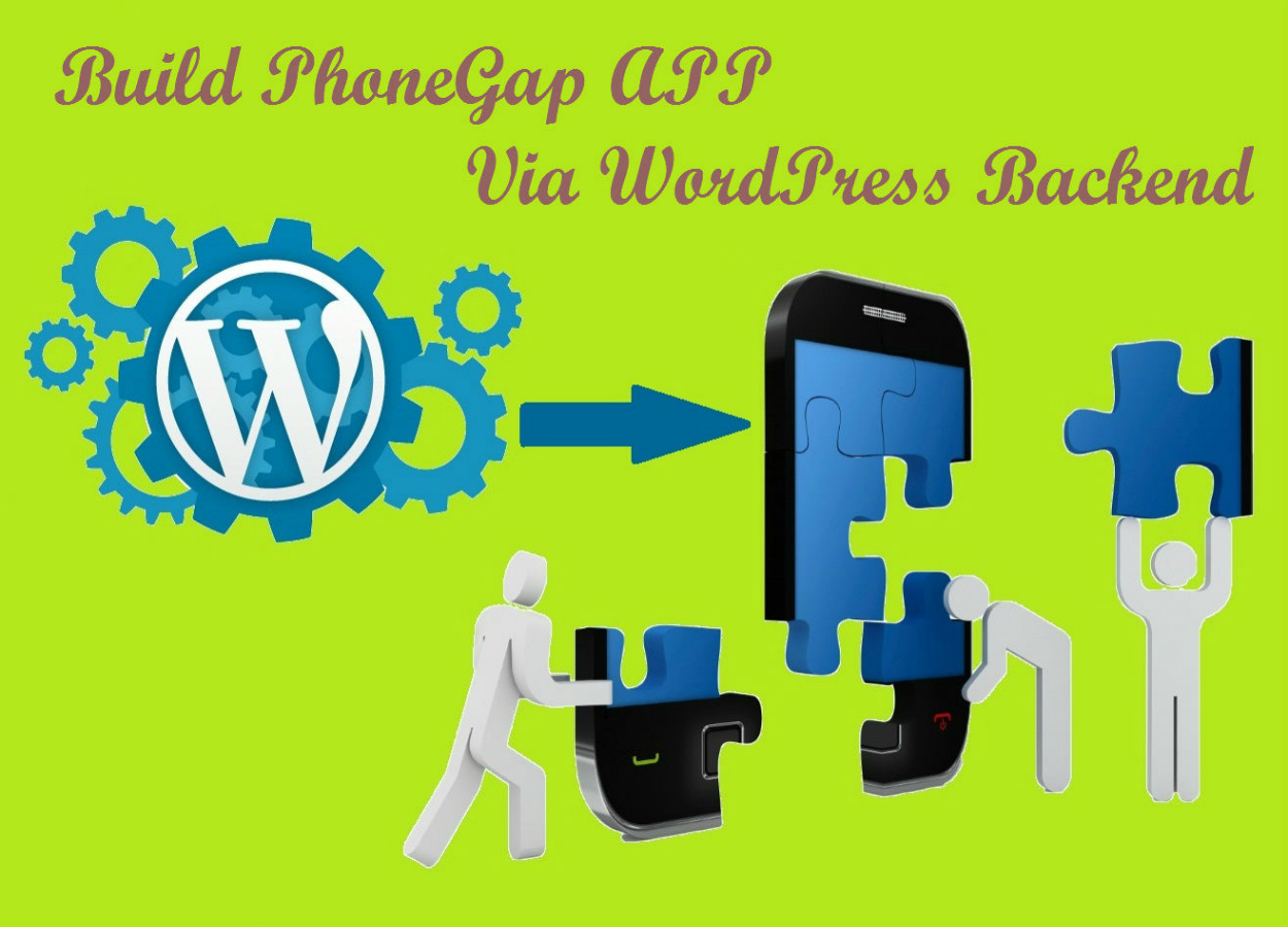 How to use WordPress Backend in Building PhoneGap APP