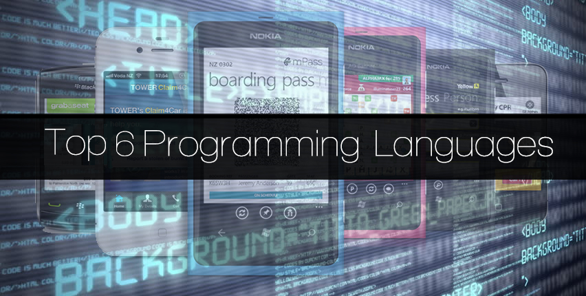 Top 6 Programming Languages for Mobile App Development